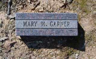 GARNER, MARY M. - Garland County, Arkansas | MARY M. GARNER - Arkansas Gravestone Photos