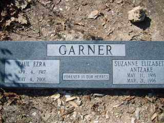 GARNER, PAUL EZRA - Garland County, Arkansas | PAUL EZRA GARNER - Arkansas Gravestone Photos