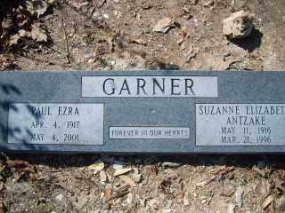 ANTZAKE GARNER, SUZANNE ELIZABETH - Garland County, Arkansas | SUZANNE ELIZABETH ANTZAKE GARNER - Arkansas Gravestone Photos