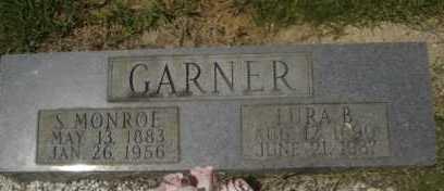 GARNER, S. MONROE - Garland County, Arkansas | S. MONROE GARNER - Arkansas Gravestone Photos