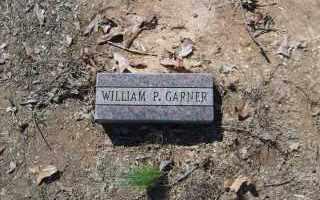 GARNER, WILLIAM P. - Garland County, Arkansas | WILLIAM P. GARNER - Arkansas Gravestone Photos