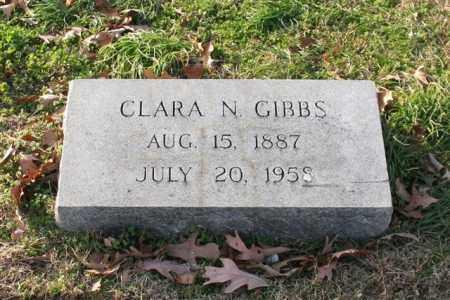 GIBBS, CLARA N. - Garland County, Arkansas | CLARA N. GIBBS - Arkansas Gravestone Photos