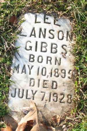 GIBBS, LEE LANSON - Garland County, Arkansas | LEE LANSON GIBBS - Arkansas Gravestone Photos
