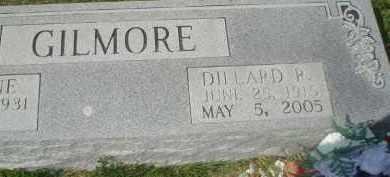 GILMORE, DILLARD P. - Garland County, Arkansas | DILLARD P. GILMORE - Arkansas Gravestone Photos