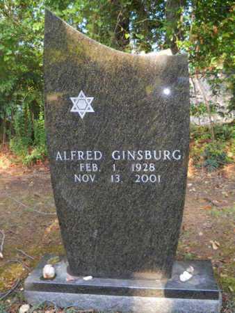 GINSBURG, ALFRED - Garland County, Arkansas | ALFRED GINSBURG - Arkansas Gravestone Photos
