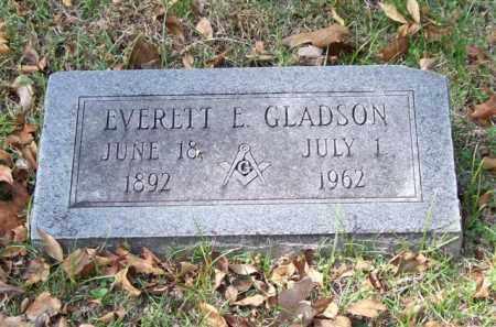 GLADSON, EVERETT E. - Garland County, Arkansas | EVERETT E. GLADSON - Arkansas Gravestone Photos