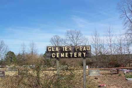*GLAZIER PEAU CEMETERY, OLD SIGN & DIRECTIONS - Garland County, Arkansas | OLD SIGN & DIRECTIONS *GLAZIER PEAU CEMETERY - Arkansas Gravestone Photos