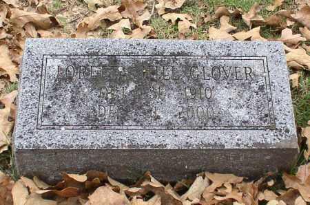 GLOVER, LORETTA - Garland County, Arkansas | LORETTA GLOVER - Arkansas Gravestone Photos