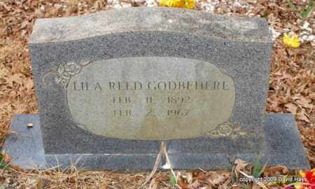 MCCLENDON GODBEHERE, LILA REED - Garland County, Arkansas | LILA REED MCCLENDON GODBEHERE - Arkansas Gravestone Photos