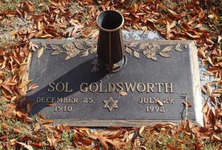 GOLDSWORTH, SOL - Garland County, Arkansas | SOL GOLDSWORTH - Arkansas Gravestone Photos