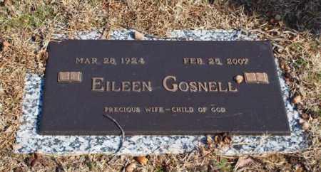 GOSNELL, EILEEN - Garland County, Arkansas   EILEEN GOSNELL - Arkansas Gravestone Photos