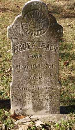 GRADY, MARY A. - Garland County, Arkansas | MARY A. GRADY - Arkansas Gravestone Photos