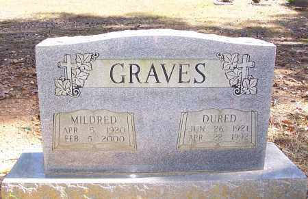 GRAVES, MILDRED - Garland County, Arkansas | MILDRED GRAVES - Arkansas Gravestone Photos