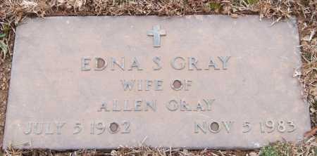 GRAY, EDNA S. - Garland County, Arkansas | EDNA S. GRAY - Arkansas Gravestone Photos
