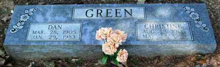GREEN, DAN - Garland County, Arkansas   DAN GREEN - Arkansas Gravestone Photos