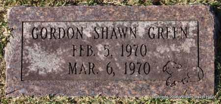 GREEN, GORDON SHAWN - Garland County, Arkansas | GORDON SHAWN GREEN - Arkansas Gravestone Photos