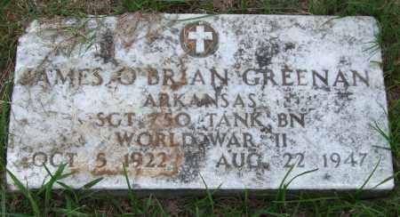 GREENAN (VETERAN WWII), JAMES O'BRIAN - Garland County, Arkansas | JAMES O'BRIAN GREENAN (VETERAN WWII) - Arkansas Gravestone Photos
