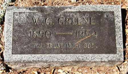 GREENE, W. G. - Garland County, Arkansas | W. G. GREENE - Arkansas Gravestone Photos
