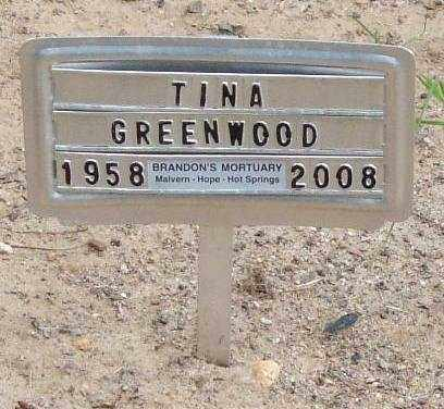 GREENWOOD, TINA - Garland County, Arkansas | TINA GREENWOOD - Arkansas Gravestone Photos