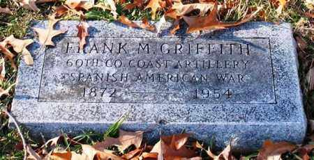 GRIFFITH (VETERAN SAW), FRANK M - Garland County, Arkansas | FRANK M GRIFFITH (VETERAN SAW) - Arkansas Gravestone Photos
