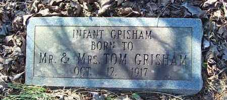 GRISHAM, INFANT - Garland County, Arkansas | INFANT GRISHAM - Arkansas Gravestone Photos