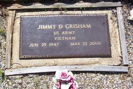 GRISHAM (VETERAN VIET), JIMMY D. - Garland County, Arkansas   JIMMY D. GRISHAM (VETERAN VIET) - Arkansas Gravestone Photos