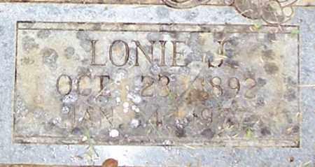 GRISHAM, LONIE J. (CLOSE UP) - Garland County, Arkansas   LONIE J. (CLOSE UP) GRISHAM - Arkansas Gravestone Photos