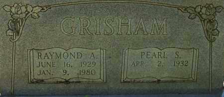 GRISHAM, RAYMOND A. (CLOSE UP) - Garland County, Arkansas | RAYMOND A. (CLOSE UP) GRISHAM - Arkansas Gravestone Photos