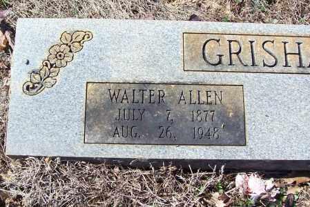 GRISHAM, WALTER ALLEN (CLOSE UP) - Garland County, Arkansas   WALTER ALLEN (CLOSE UP) GRISHAM - Arkansas Gravestone Photos