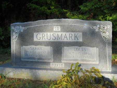 GRUSMARK, LOUIS - Garland County, Arkansas | LOUIS GRUSMARK - Arkansas Gravestone Photos
