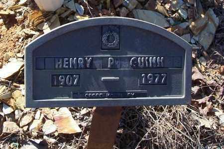 GUINN, HENRY P. (FOOTMARKER) - Garland County, Arkansas | HENRY P. (FOOTMARKER) GUINN - Arkansas Gravestone Photos