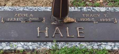 HALE, ZEOLA - Garland County, Arkansas | ZEOLA HALE - Arkansas Gravestone Photos