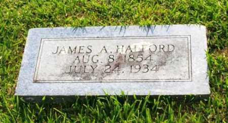HALFORD, JAMES A. - Garland County, Arkansas | JAMES A. HALFORD - Arkansas Gravestone Photos