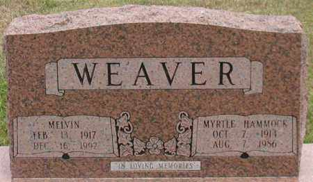WEAVER, MYRTLE - Garland County, Arkansas | MYRTLE WEAVER - Arkansas Gravestone Photos