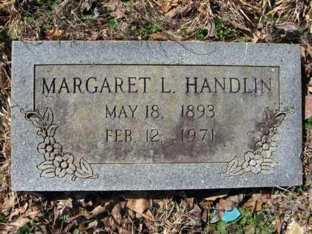 JOHNSON HANDLIN, MARGARET L. - Garland County, Arkansas | MARGARET L. JOHNSON HANDLIN - Arkansas Gravestone Photos