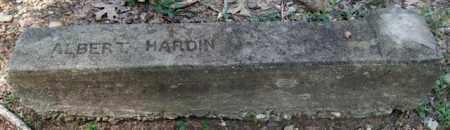 HARDIN, ALBERT - Garland County, Arkansas | ALBERT HARDIN - Arkansas Gravestone Photos