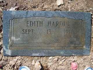 HARDIN, EDITH - Garland County, Arkansas | EDITH HARDIN - Arkansas Gravestone Photos