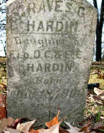 HARDIN, GRAVES G. - Garland County, Arkansas   GRAVES G. HARDIN - Arkansas Gravestone Photos