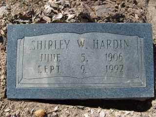 HARDIN, SHIRLEY W. - Garland County, Arkansas | SHIRLEY W. HARDIN - Arkansas Gravestone Photos