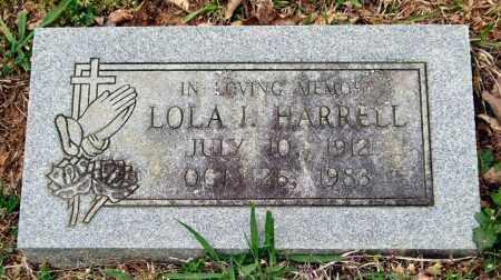 HARRELL, LOLA I. - Garland County, Arkansas | LOLA I. HARRELL - Arkansas Gravestone Photos