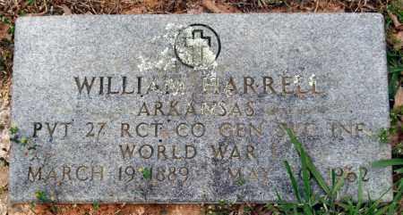 HARRELL (VETERAN WWI), WILLIAM - Garland County, Arkansas | WILLIAM HARRELL (VETERAN WWI) - Arkansas Gravestone Photos