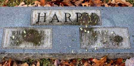 HARRY, WILLIAM H. - Garland County, Arkansas | WILLIAM H. HARRY - Arkansas Gravestone Photos