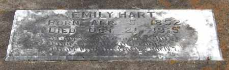 HART, EMILY - Garland County, Arkansas | EMILY HART - Arkansas Gravestone Photos