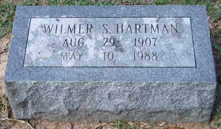 HARTMAN, WILMER S. - Garland County, Arkansas | WILMER S. HARTMAN - Arkansas Gravestone Photos