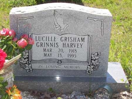 HARVEY, LUCILLE GRISHAM GRINNIS - Garland County, Arkansas | LUCILLE GRISHAM GRINNIS HARVEY - Arkansas Gravestone Photos