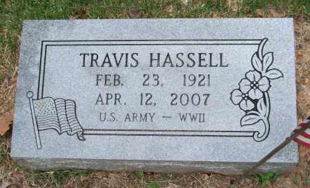 HASSELL (VETERAN WWII), TRAVIS - Garland County, Arkansas | TRAVIS HASSELL (VETERAN WWII) - Arkansas Gravestone Photos