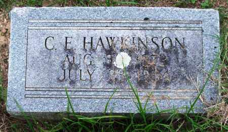 HAWKINSON, C. E. - Garland County, Arkansas | C. E. HAWKINSON - Arkansas Gravestone Photos