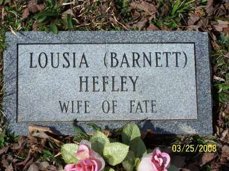 HEFLEY, LOUSIA - Garland County, Arkansas   LOUSIA HEFLEY - Arkansas Gravestone Photos