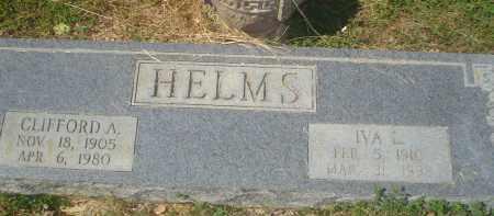 HELMS, CLIFFORD A. - Garland County, Arkansas | CLIFFORD A. HELMS - Arkansas Gravestone Photos