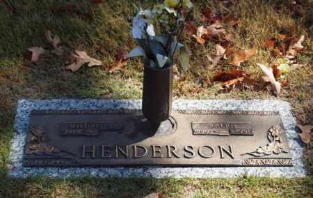 HENDERSON, RALPH - Garland County, Arkansas | RALPH HENDERSON - Arkansas Gravestone Photos